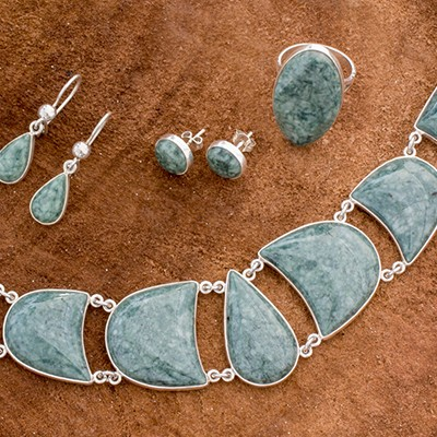 Jewelry Sets Hard-Working Maya Style Earring Set And Woven Rings Cheapest Price From Our Site Fashion Jewelry