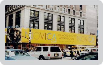Novica Billboards in New York City