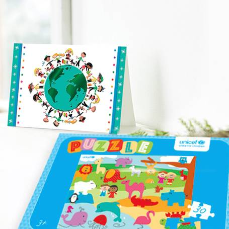 Purchase UNICEF gift cards. Each purchase from UNICEF Market helps save children's lives.