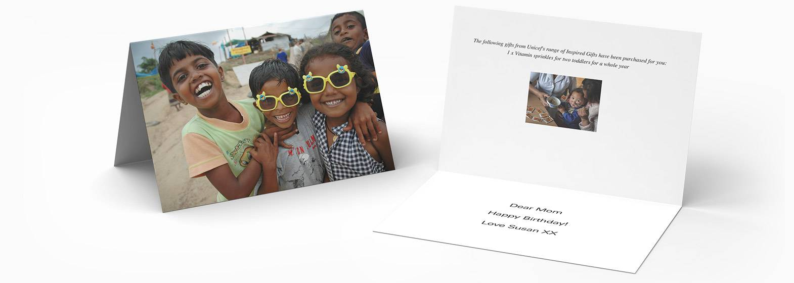 UNICEF Inspired Charity Gifts & Dedication Gifts